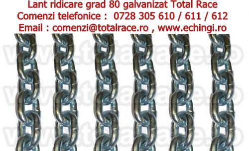 lant ridicare galvanizat lanturi rezistente rugina grad 80 total race contact